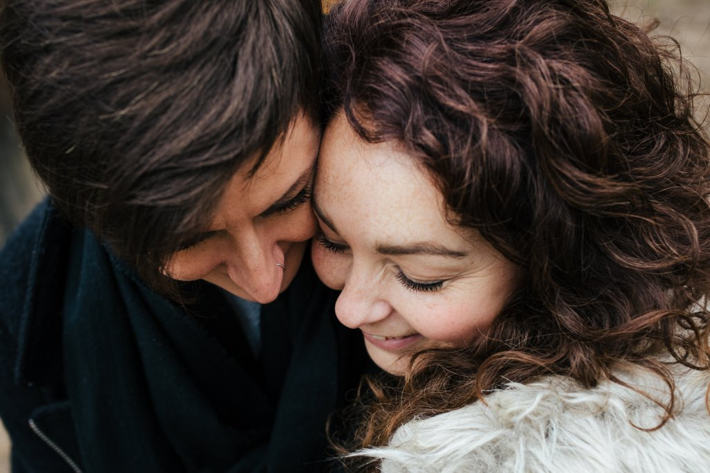 Kent Woodland Engagement Shoot for Jade & Davina