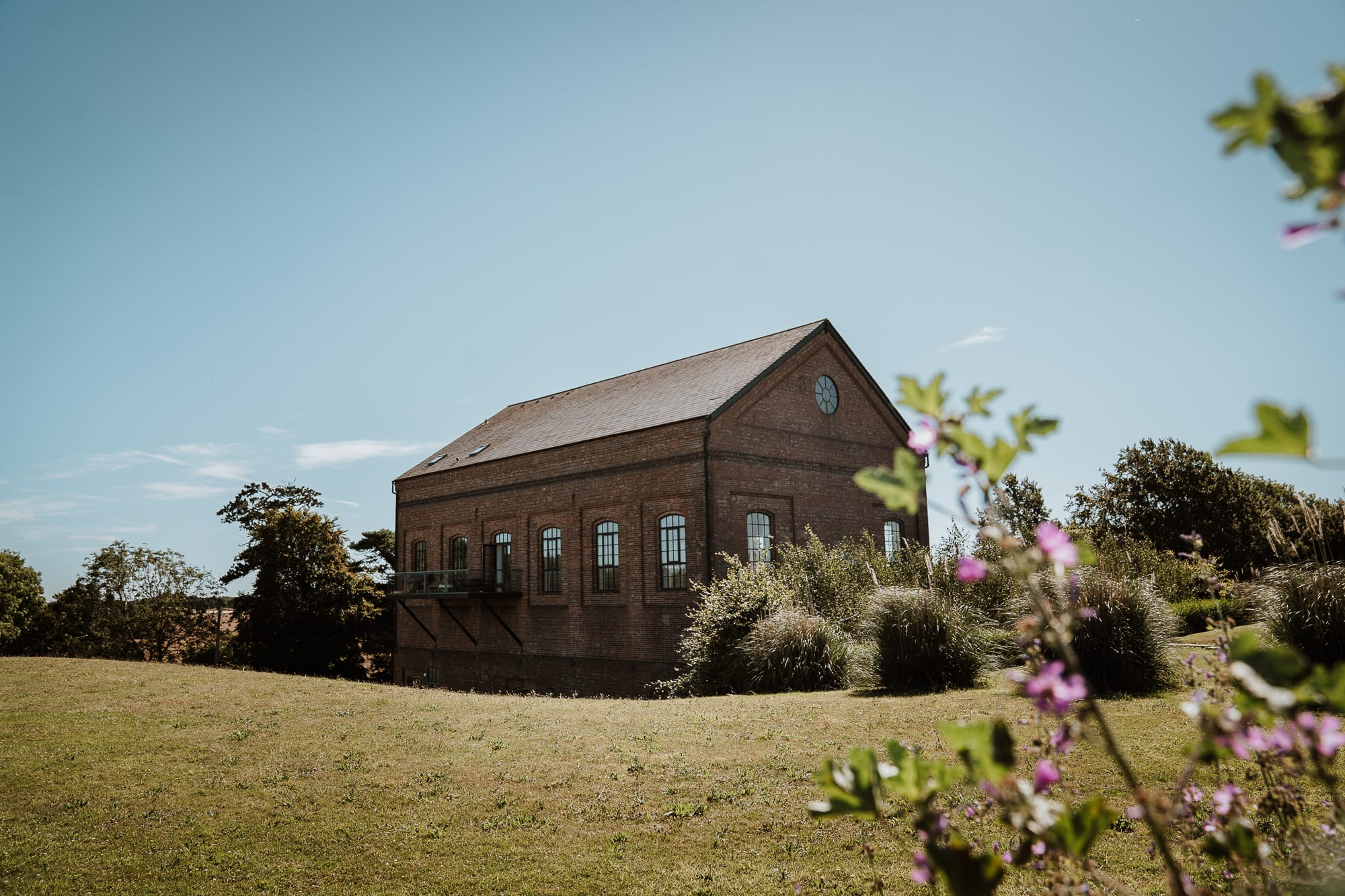 Outside view of the Winding House, a unique Kent Wedding Venue